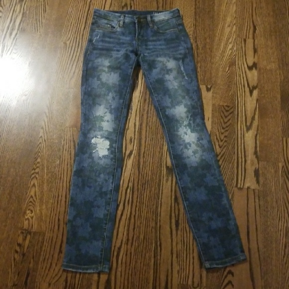 Blank NYC Denim - Floral Print Jeans